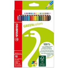 Stabilo GREENcolors Pencil Set, 18 Ct.