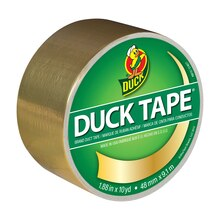 Color Duck Tape Brand Duct Tape, Gold