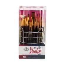 Royal & Langnickel Studio Brush Caddie 18 Piece Set
