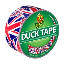 Printed Duck Tape Brand Duct Tape, Union Jack