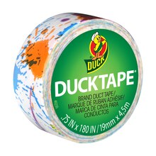 Ducklings Mini Duck Tape Brand Duct Tape, Paint Splatter