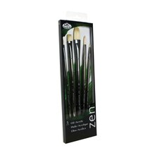 Zen Series 63 Long Handle Filbert Brush Set