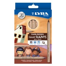 Lyra ColorGiants Skin Tones Colored Pencils Set