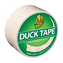 Printed Duck Tape Brand Duct Tape, Lace
