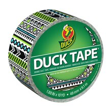 Color Duck Tape Brand Duct Tape, Tribal