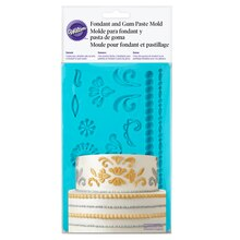 Wilton Fondant & Gum Paste Mold, Damask