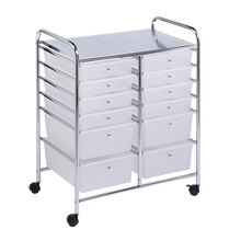 Honey-Can-Do 12 Drawer Studio Rolling Cart