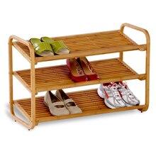 Honey-Can-Do 3-Tier Bamboo Shoe Shelf