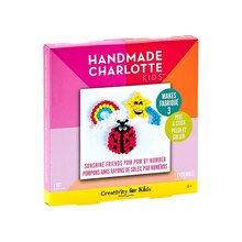 Handmade Charlotte Kids Pom Pom By Number Kit, Sunshine Friends Package