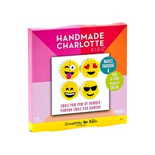 Handmade Charlotte Kids Pom Pom By Number Kit, Emoji Package