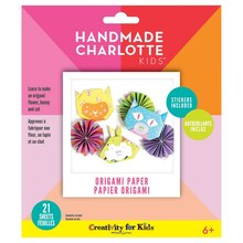 Handmade Charlotte Kids Origami Paper Kit Package