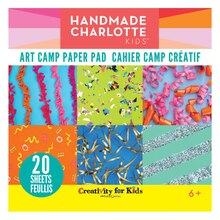 Creativity for Kids® Handmade Charlotte Kids™ Paper Pad, Art Camp, medium