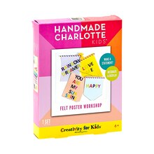 Handmade Charlotte Kids Felt Poster Workshop Package