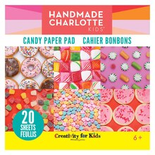 Handmade Charlotte Kids Paper Pad, Candy