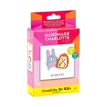 Handmade Charlotte Kids DIY Sew a Pet Sticker Package