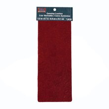 Marsala Acanthus Genuine Leather Trim Piece By ArtMinds™, medium