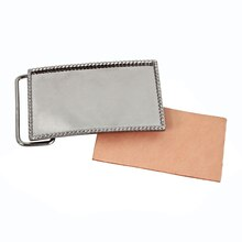 Rectangular Blank Belt Buckle By ArtMinds