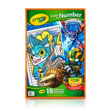 Crayola Color by Number Book, Skylanders Front