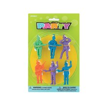 Parachute Men Toys Army Party Favors, Assorted 6ct