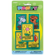 Kids Card Game Party Favors, Assorted 5ct