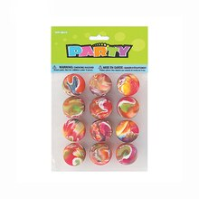 Marble Bouncy Ball Party Favors, 12ct