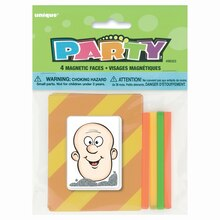 Magnetic Face Toy Party Favors, 4ct, medium