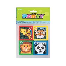 Animal Slide Puzzle Party Favors, 10ct