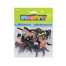 Plastic Horse Party Favors, Assorted 10ct