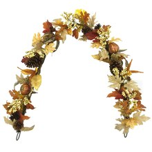 Pumpkin & Pinecone Garland By Ashland