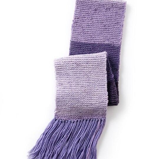 Caron Knitting Patterns : Caron  Cakes  Basic Knit Scarf