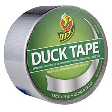 Color Duck Tape Brand Duct Tape, Chrome Label