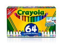 Crayola Broad Line Washable Markers Variety Pack Front