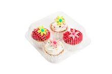 4-Cup Cupcake Clamshells By Celebrate It