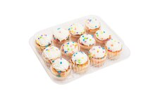12-Cup Mini Cupcake Clamshells By Celebrate It