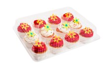 12-Cup Cupcake Clamshells By Celebrate It