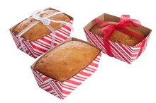 Rectangular Striped Loaf Containers By Celebrate It