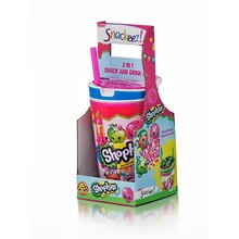 Shopkins Snackeez! Jr. 2-in-1 Snack & Drink Cup