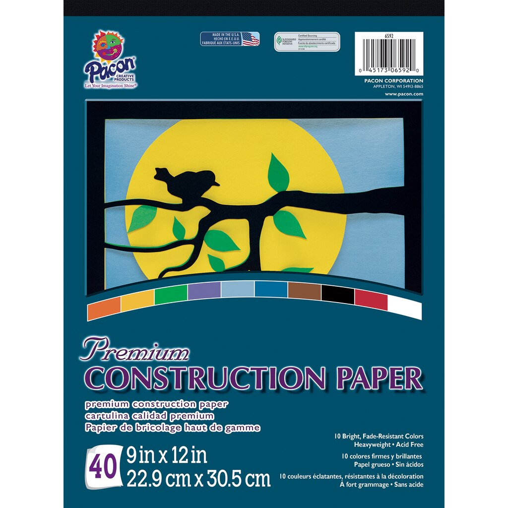 buy construction paper How to make paper are you a hoarder with heaps of old  if you want to make colored construction paper,use paper with the least amount of dark.