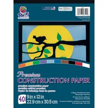Pacon Premium Construction Paper Pad