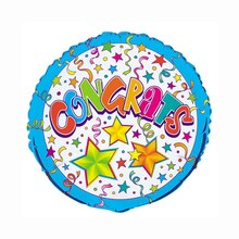 Foil Superstars Congrats Balloon, 18""