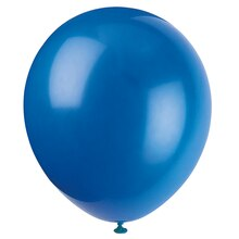 "12"" Latex Royal Blue Balloon"