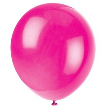 "12"" Latex Magenta Balloon"