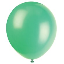 "12"" Latex Emerald Green Balloons, 10ct"