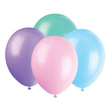 "12"" Latex Pastel Balloons, Assorted 10ct"