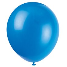 "12"" Latex Twilight Blue Balloons, 10ct"