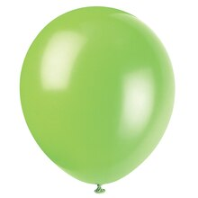 "12"" Latex Lime Green Balloons, 10ct"