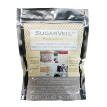 SugarVeil Confectionery Icing Mix, White
