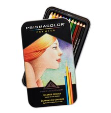Prismacolor Premier Soft Core Colored Pencil Set, 12 Count