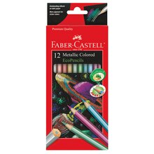 Faber-Castell Colored EcoPencils, Metallic