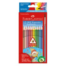 Faber-Castell GRIP Watercolor EcoPencils In Package